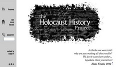 The Holocaust History Project: